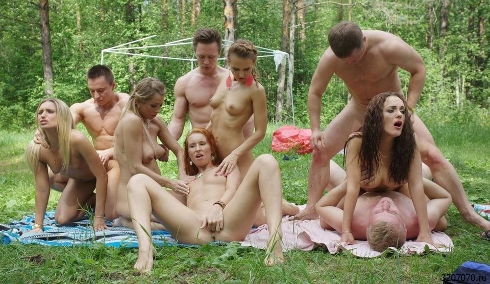 Секс Со Студентками На Природе