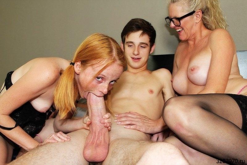 Русская Учит Молодого Сексу