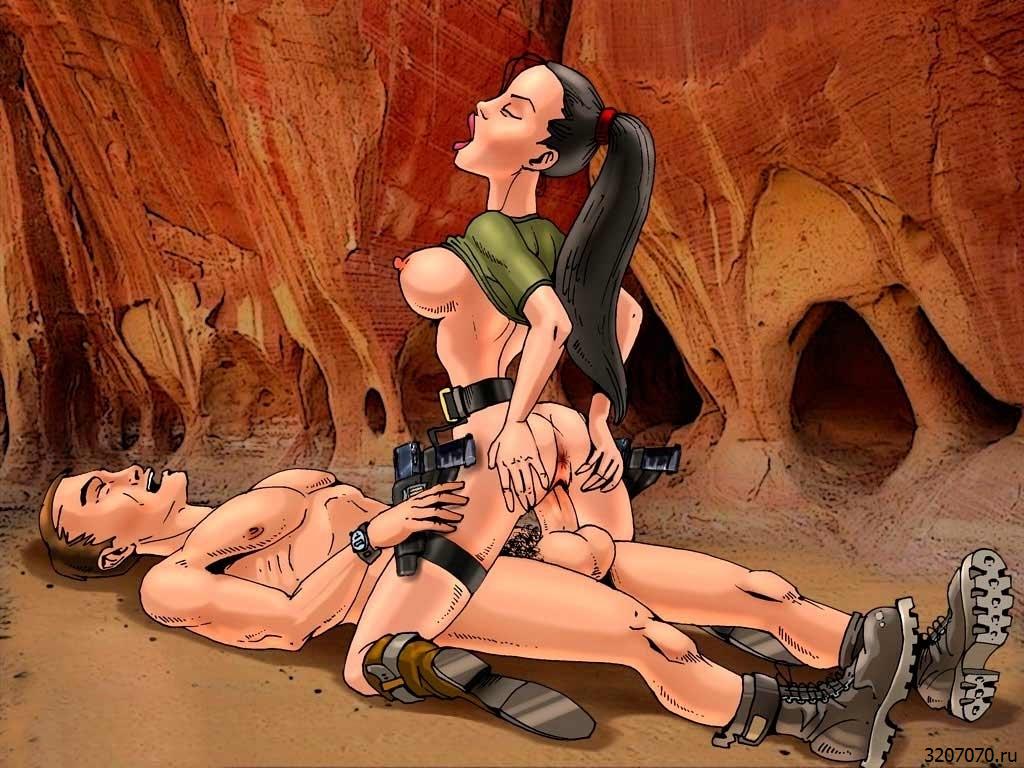 Персонажи Игр Занимаются Сексом