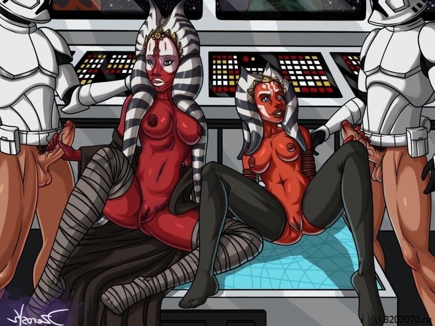 Секс Аниме Звездные Войны