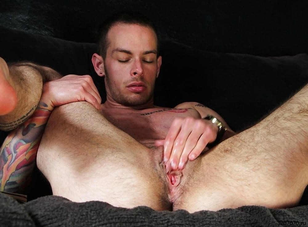 Guy Playing With Pussy