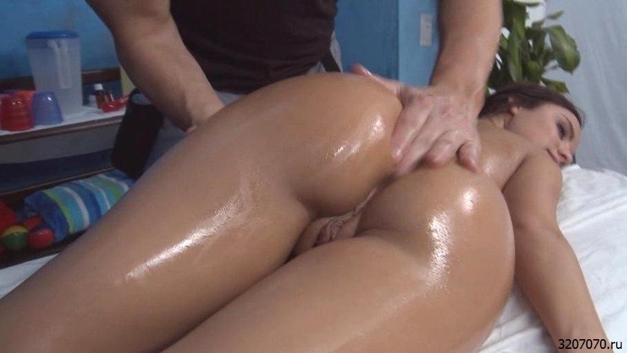Массаж Попу Секс Видео