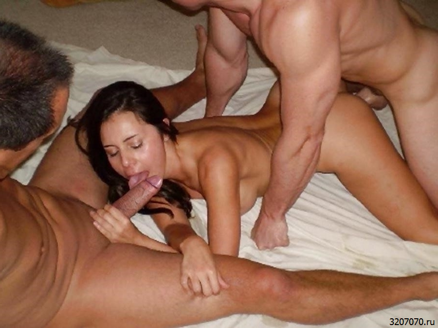 Жена Первый Раз Секс Втроем