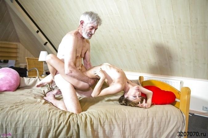 Фитнес Обнаженной Внучки С Дедом